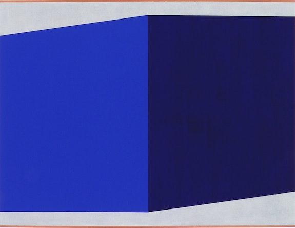Don Voisine, Untitled, 2020. Oil and acrylic on paper, 11 x 11 inches. Courtesy Pamela Salisbury Gallery, Hudson, NY.