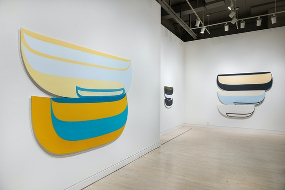 Installation view: <em>Joanna Pousette-Dart</em>, Locks Gallery, Philadelphia, 2020. Courtesy Locks Gallery.