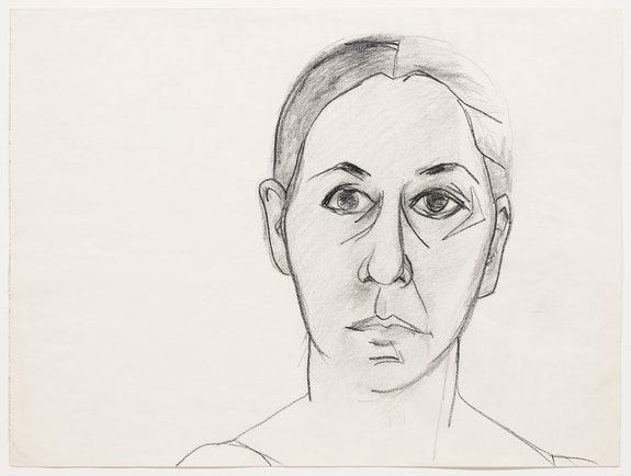 Luchita Hurtado, <em>Untitled</em>, ca. 1960s. Graphite and charcoal on paper, 18 x 24 inches. © Luchita Hurtado. Courtesy the artist and Hauser & Wirth. Photo: Thomas Barratt.