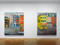 Installation view: Josh Smith: <em>Spectre</em>, David Zwirner, New York, 2020. Courtesy David Zwirner.