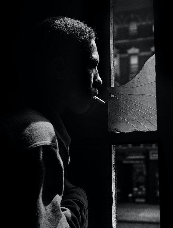 Gordon Parks, <em>Red Jackson, Harlem, New York, 1948.</em> Courtesy of and copyright The Gordon Parks Foundation.