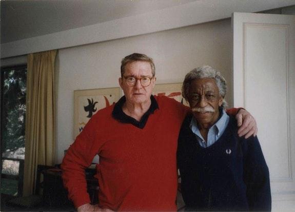 Gordon Parks, <em>Philip B, Kunhardt, Jr. and Gordon Parks, Chappaqua, New York, ca. 2000.</em> Courtesy of and copyright The Gordon Parks Foundation.
