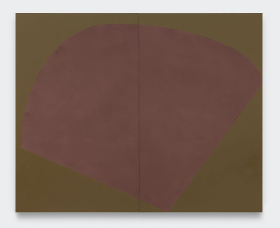 Suzan Frecon, <em>vernal breath of plum</em>, 2019. © Suzan Frecon. Courtesy the artist and David Zwirner.