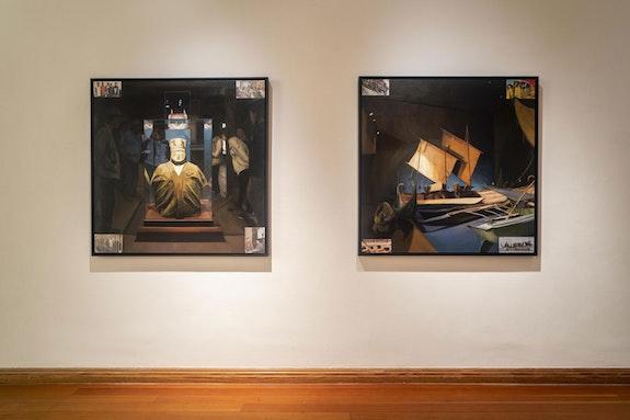 Installation view: Sandra Gamarra Heshiki, 11th Berlin Biennale, Gropius Bau. Photo: Mathias Völzke.