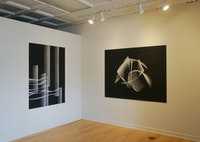 Installation view: <em>Taney Roniger: Never The Same River</em>, Corners Gallery, Ithaca, 2020<em>.</em> Courtesy the artist and Corners Gallery.
