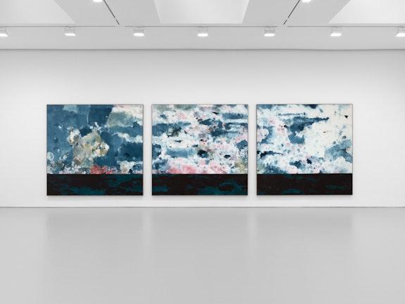 Installation view: Harold Ancart: <em>Traveling Light</em>, David Zwirner, New York, 2020. Courtesy David Zwirner.