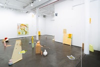 Installation view: <em>Park Kyung Ryul: Tense</em>, DOOSAN Gallery New York, 2020. Courtesy the artist and DOOSAN Gallery New York. Photo: Jiwon Choi.