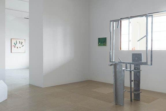 Installation view: <em>Gedi Sibony: The Terrace Theater</em>, Greene Naftali, New York, 2020. Courtesy the artist and Greene Naftali, New York.