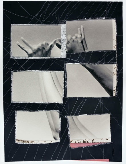 Dionne Lee, <em>True North</em>, 2019. Gelatin silver print (collage), graphite. 16 x 12 inches. Courtesy the artist. © Dionne Lee.