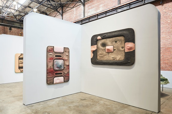 Installation view: <em>Tishan Hsu: Liquid Circuit</em>, SculptureCenter, New York, 2020. Photo: Kyle Knodell.