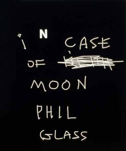Jeff Elrod, <em>Moon Glass</em>, 1998. Acrylic on canvas, 72 x 60 inches. © Jeff Elrod; Courtesy the artist and Texas Gallery.