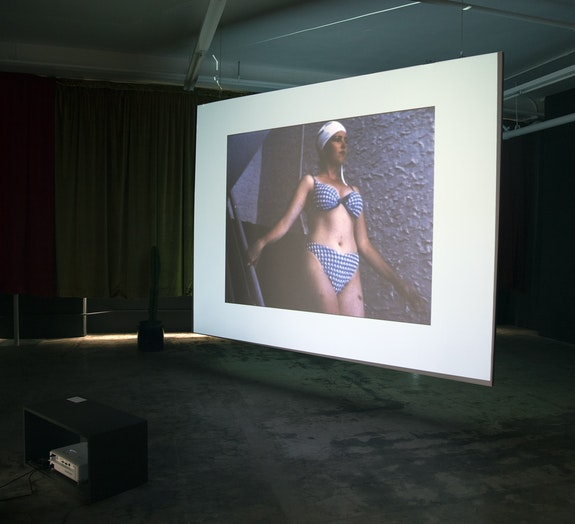 Installation view: <em>Peggy Ahwesh, Heart_Land</em>, JOAN, Los Angeles, 2020. Courtesy JOAN, Los Angeles.