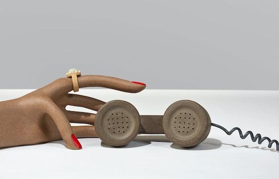 Genesis Belanger, <em>No More News</em>, 2020 (detail). Courtesy the artist and Perrotin. Photo: Pauline Shapiro.