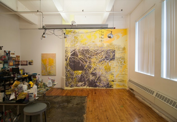 Greg Lindquist Sharpe Walentas studio installation, 2014. Courtesy the artist.