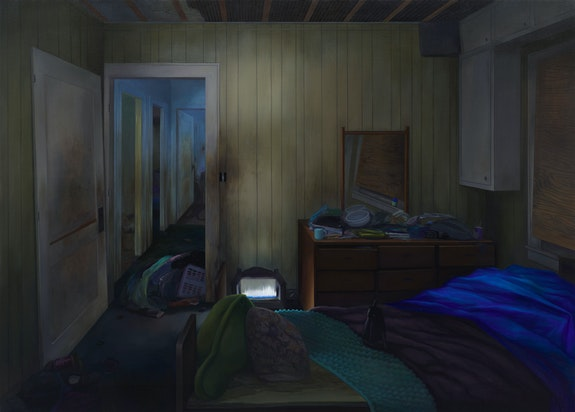 Brandi Twilley, <em>The Hallway</em>, 2017. Courtesy the artist and 1969 Gallery (Matthew Carlson).