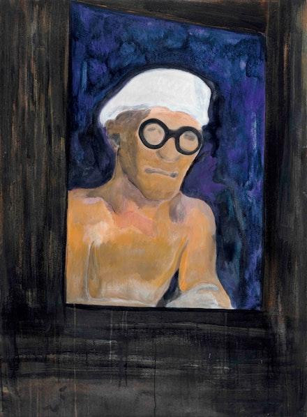 Peter Doig, <em>Portrait (Corbusier)</em>, 2009. © Peter Doig, courtesy Michael Clark.
