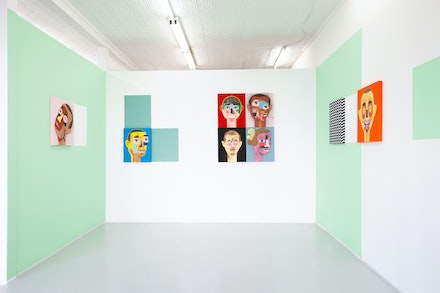 Installation view: <em>Mark Mulroney: So many of my friends are in trouble</em>, Mrs. Gallery, Maspeth. Courtesy Mrs. Gallery.