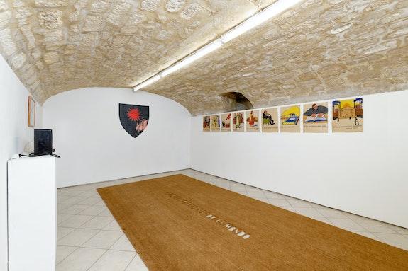 Installation view: <em>RosTA</em>, New Galerie, Paris, 2020. Courtesy New Galerie. Photo: Aurélien Mole.