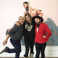 David Antonio Cruz, Jasmine Wahi & Jason Elizondo at BRIC Residency Space, 2018