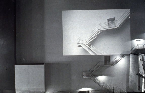 Jim Melchert, <em>Paramount Projection</em>, 1970. Courtesy the artist.