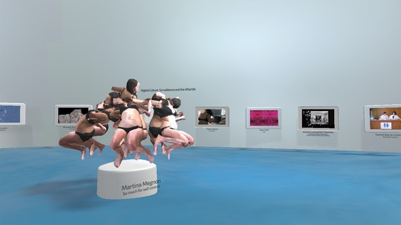 Installation view: <em>The Archive to Come</em>, Telematic Media Arts, 2020.
