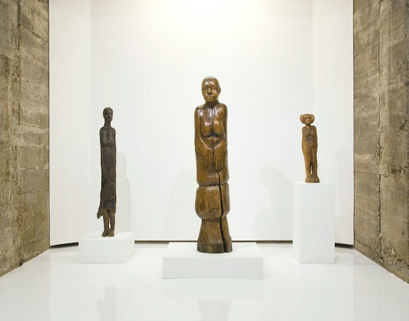 Installation view: <em>Luther Hampton</em>, Tops Gallery, Memphis, 2020. Courtesy Tops Gallery.