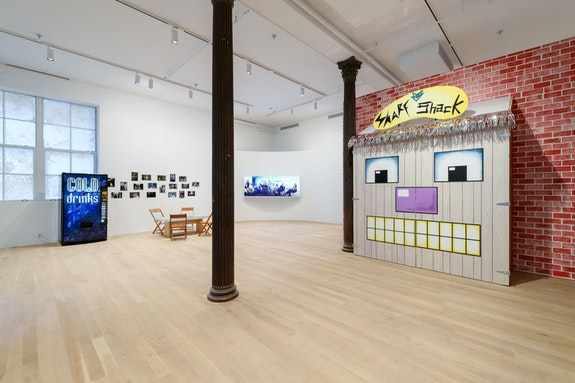 Installation view: <em>ART CLUB</em>2000<em>: Selected Works 1992–1999</em> Artists Space, New York, 2020. Courtesy Artists Space. Photo: Filip Wolak
