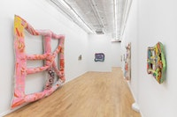 Installation view: <em>Meg Lipke</em>, Broadway, 2020. Courtesy the artist and Broadway, NYC. Photo: Pierre Le Hors.