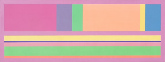 Freddy Rodríguez, Untitled, 1970. 36 x 96 inches. Courtesy Hutchinson Modern & Contemporary, New York.