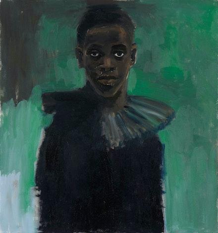 Lynette Yiadom-Boakye,<em> A Passion Like No Other</em>, 2012. Collection Lonti Ebers. © Lynette Yiadom-Boakye. Courtesy the artist.