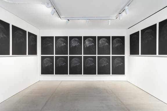 Installation view: <em>Aleksandar Duravcevic: Empire</em>, Totah Gallery, New York, 2021. Courtesy Totah Gallery.