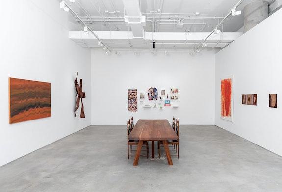 Installation view: <em>Cross-cuts</em>, Nara Roesler, New York, 2021. Courtesy Nara Roesler. Photo: Charles Roussel.