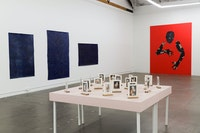 Installation view: <em>Felipe Baeza: Through the Flesh to Elsewhere</em>, The Mistake Room, Los Angeles, California, 2020. Courtesy The Mistake Room.