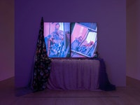 Installation view: <em>This Longing Vessel: Studio Museum Artists in Residence 2019-20</em>, MoMA PS1, 2020-21. Photo: Kris Graves.