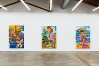 Installation view: <em>GEST</em>, Nino Mier Gallery, Los Angeles, California, 2020-21. Courtesy Nino Mier Gallery.