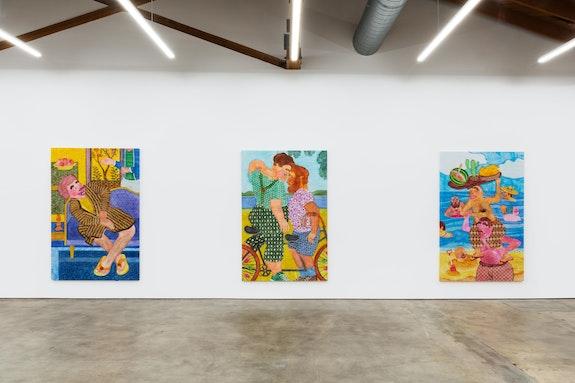 Installation view: <em>GEST</em>, Nino Mier Gallery, Los Angeles, California, 2020-21. Courtesy Nino Mier Gallery.