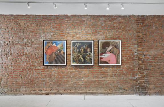 Installation view: <em>11:11</em>, At Peace, Brooklyn, New York, 2020-21. Courtesy At Peace. Photo: Shark Senesac.