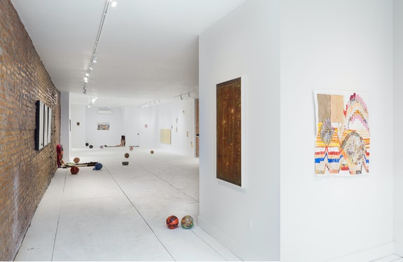 Installation view: <em>11:11</em>, At Peace, Brooklyn, New York, 2020-21. Courtesy At Peace. Photo: Shark Senesac.