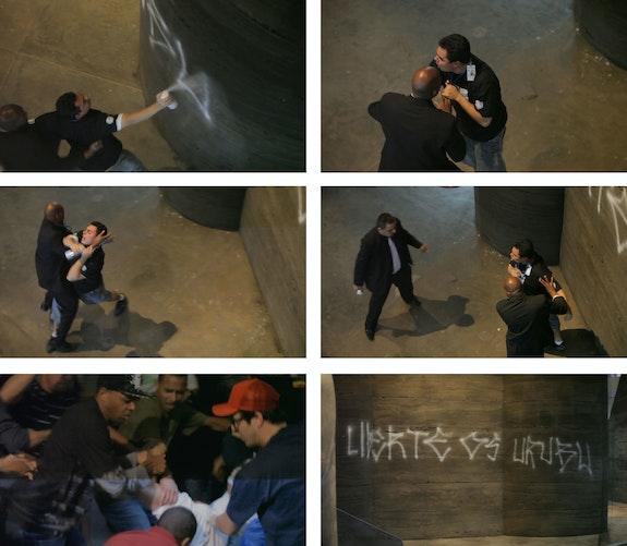 Registro da ação <em>Liberte os Urubus</em>, 2010. Arquivo Cripta Djan.