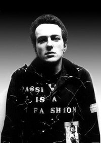 Joe Strummer: Punk As What? Courtesy of Bob Gruen.