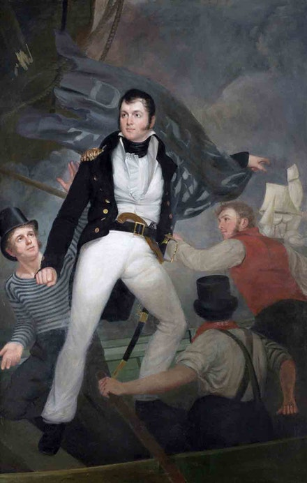John Wesley Jarvis, <em>Oliver Hazard Perry</em>, 1816. Oil on canvas. New York City Hall Portrait Collection.