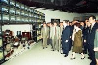 Opening ceremony, 1st Gwangju Biennale, 1995. Courtesy the Gwangju Biennale Foundation