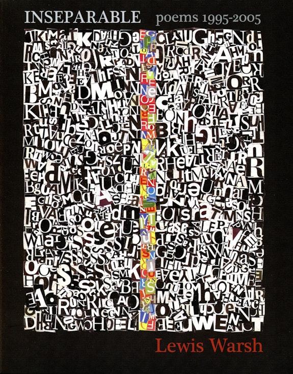 Cover of <em>Inseparable</em> (2008) with Lewis's collage <em>Untitled</em> (2006)