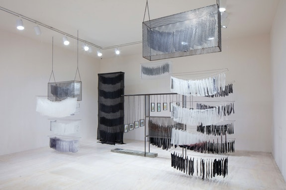 Rowan Renee, <em>No Spirit For Me</em>,  2019. Installation view in <em>Marking Time: Art in the Age of Mass Incarceration</em>, MoMA PS1, New York, 2021. Courtesy MoMA PS1. Photo: Matthew Septimus.