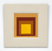 Josef Albers, <em>Study to Homage to the Square</em>, 1954. © The Josef and Anni Albers Foundation / Artists Rights Society (ARS), New York. Courtesy The Josef and Anni Albers Foundation and David Zwirner.