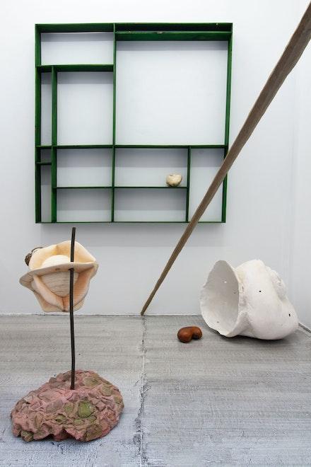 Installation view: <em>Dmitri Hertz: Crabapple</em>, Super Dutchess, New York, 2021. Courtesy Super Dutchess.