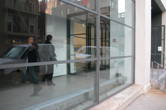 CUE Art Foundation's gallery at 511 West 25th Street, New York, NY 10001. Courtesy CUE Art Foundation.