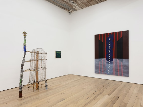 Installation view: <em>Lost & Found</em>, Martos Gallery, New York, 2021. Courtesy Martos Gallery.