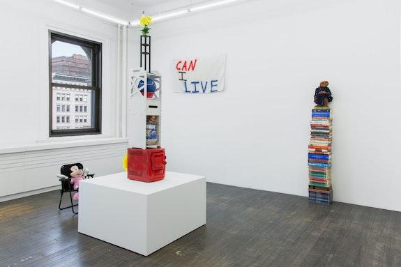 Installation view: <em>Otis Houston Jr.</em>, Gordon Robichaux, NY, 2021. Courtesy Gordon Robichaux, NY. Photo: Gregory Carideo.