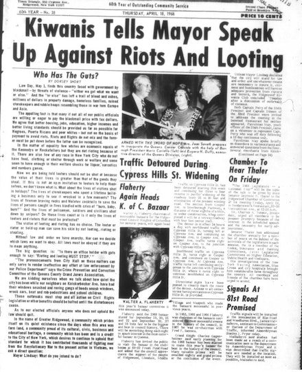 A 1967 front-page